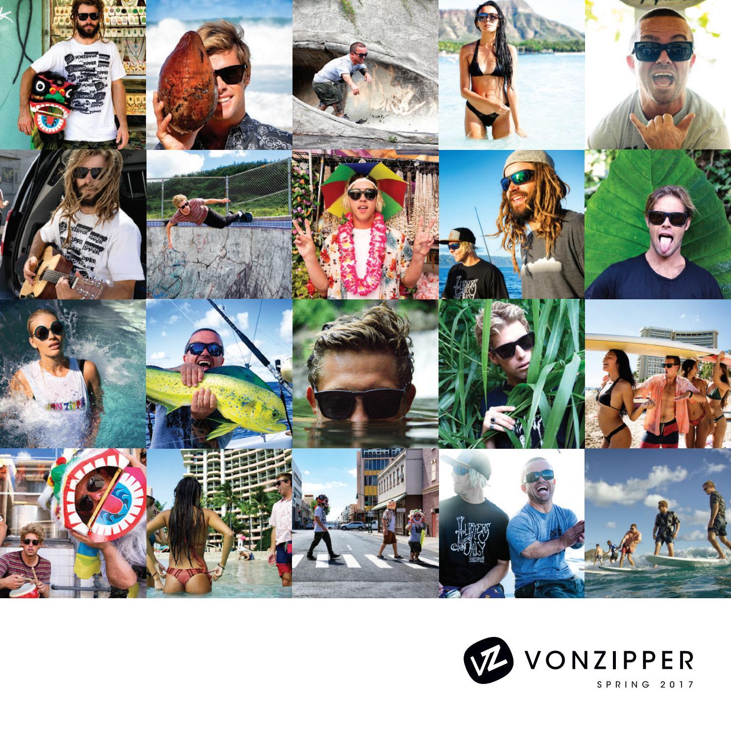 VON ZIPPER SUNGLASSES KICKSTAND PSV WILD LIFE MATTE BLACK//GRAY POLARIZED