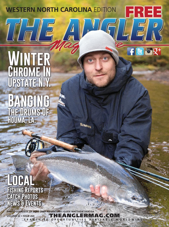 65dfc5b47f9 The Angler Magazine-Jan.  Western North Carolina by Coastal Angler ...