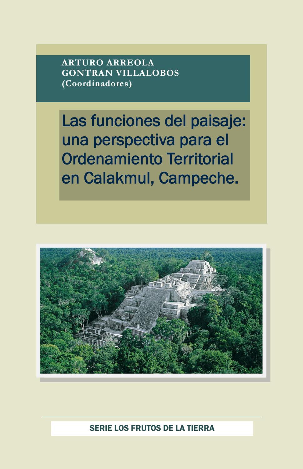 Libro Funciones Del Paisaje Para El Ordenamiento Territorial En El  # Muebles Villalobos Ciales