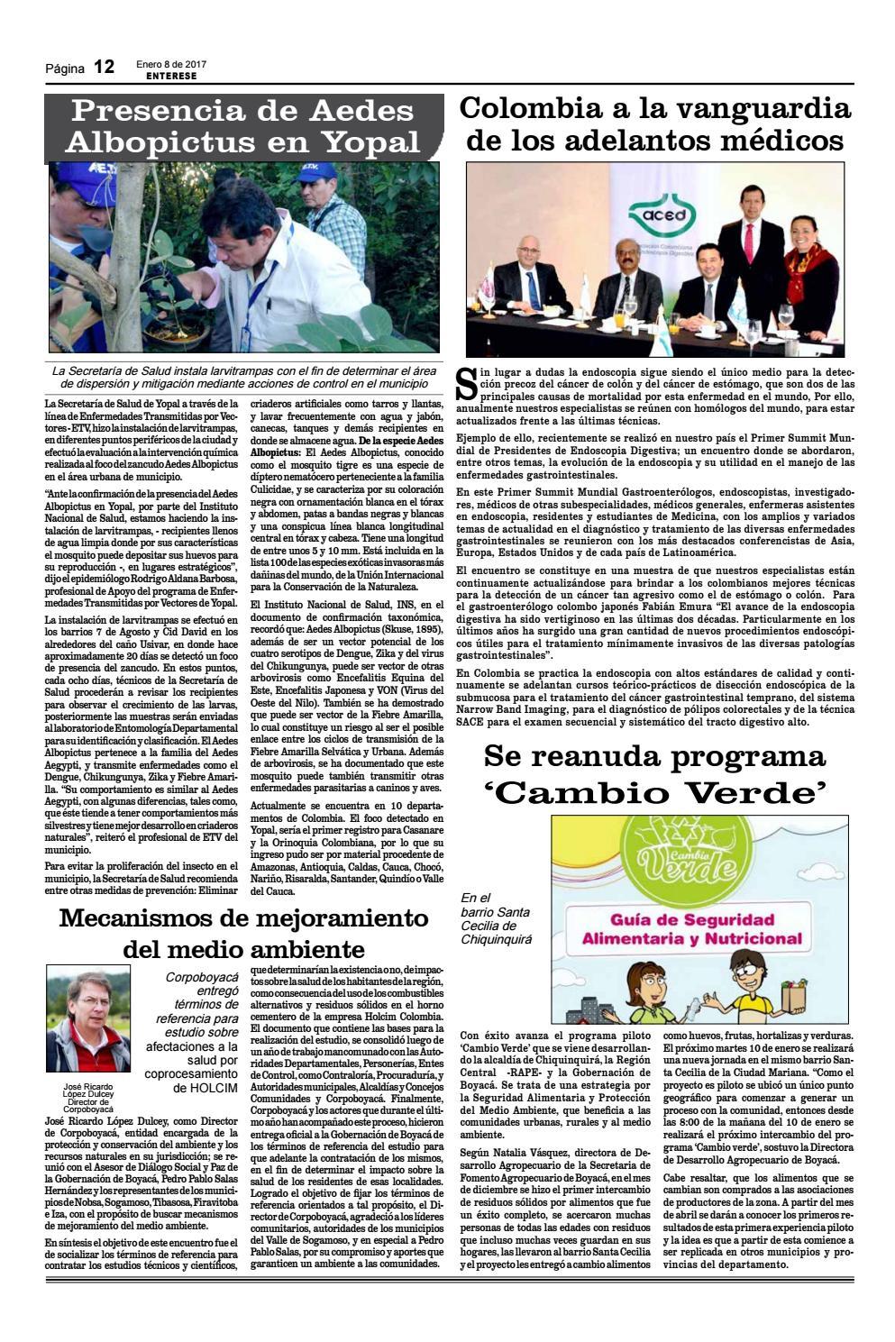 Periódico Entérese Edicion 1312 by ENTERESE - issuu