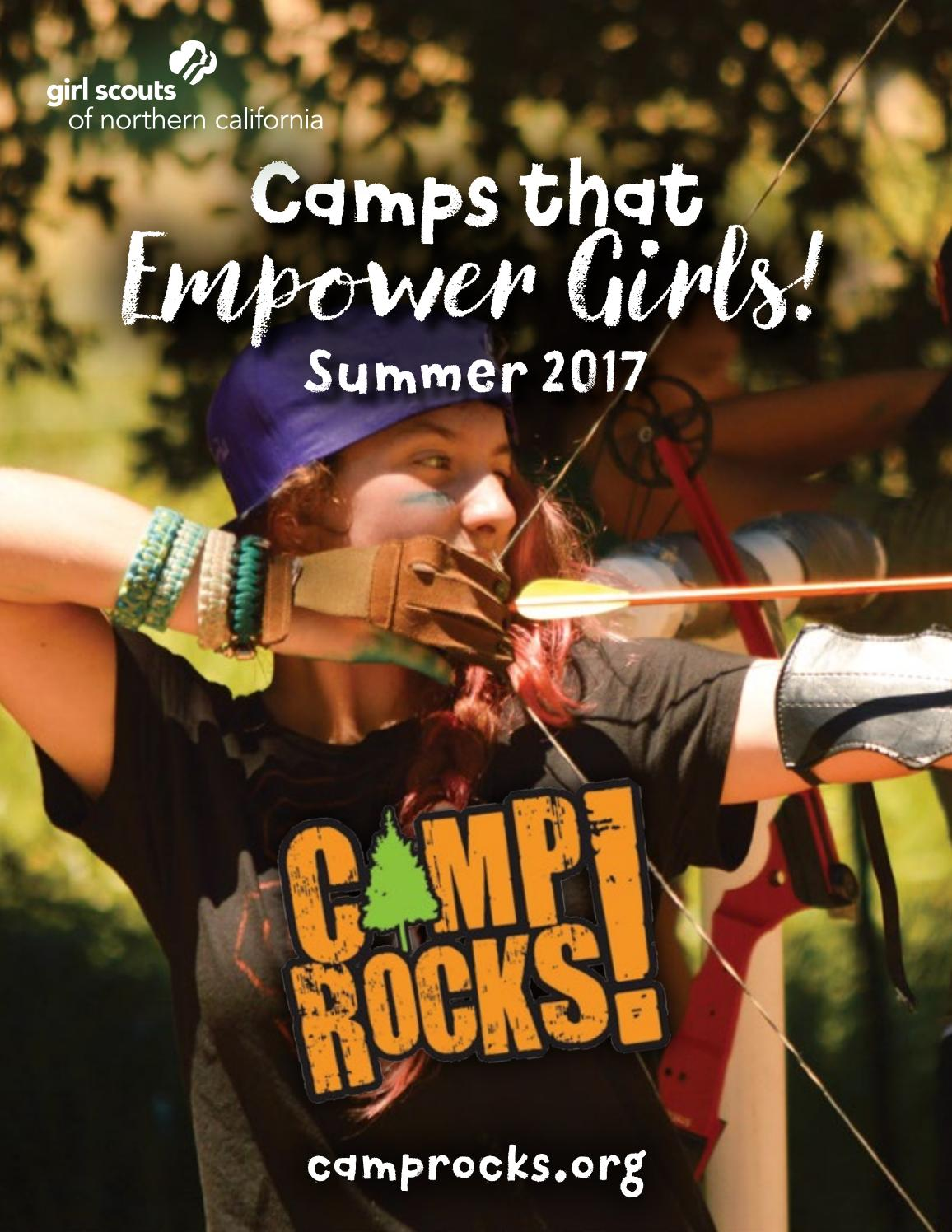 2017 girl scouts of northern california summer camp by for Northern california summer camps