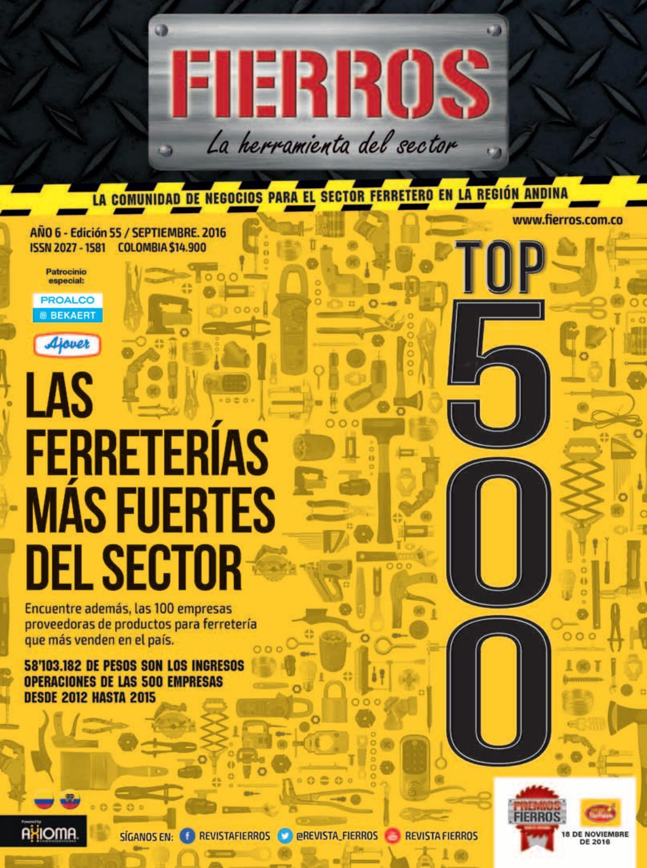 Fierros Edici N 30 By Axioma Comunicaciones S A S Issuu # Muebles Plasticos Riduco