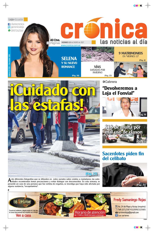 13enero2017 9755 by Diario Crónica - issuu 52c90e330d7