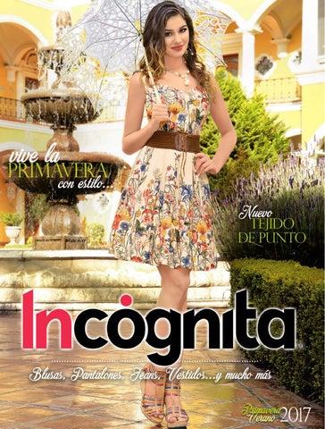 18349a9fe4694 CATÁLOGO ROPA COLECCIÓN PRIMAVERA VERANO 2017 by Incognita Mexico ...
