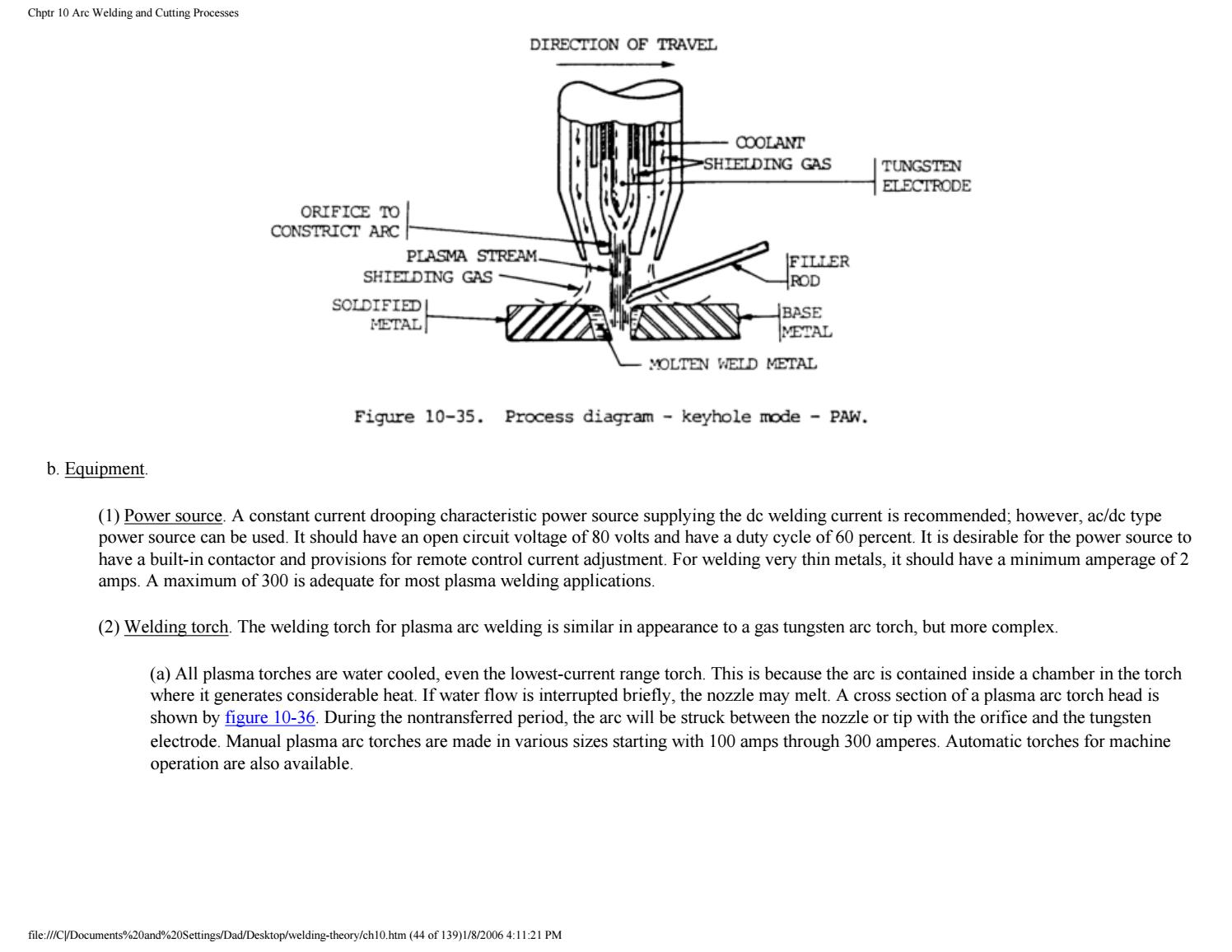 Welding Therory Amp Application 1 499 By Sdharmaraj Issuu Arc Process Diagram