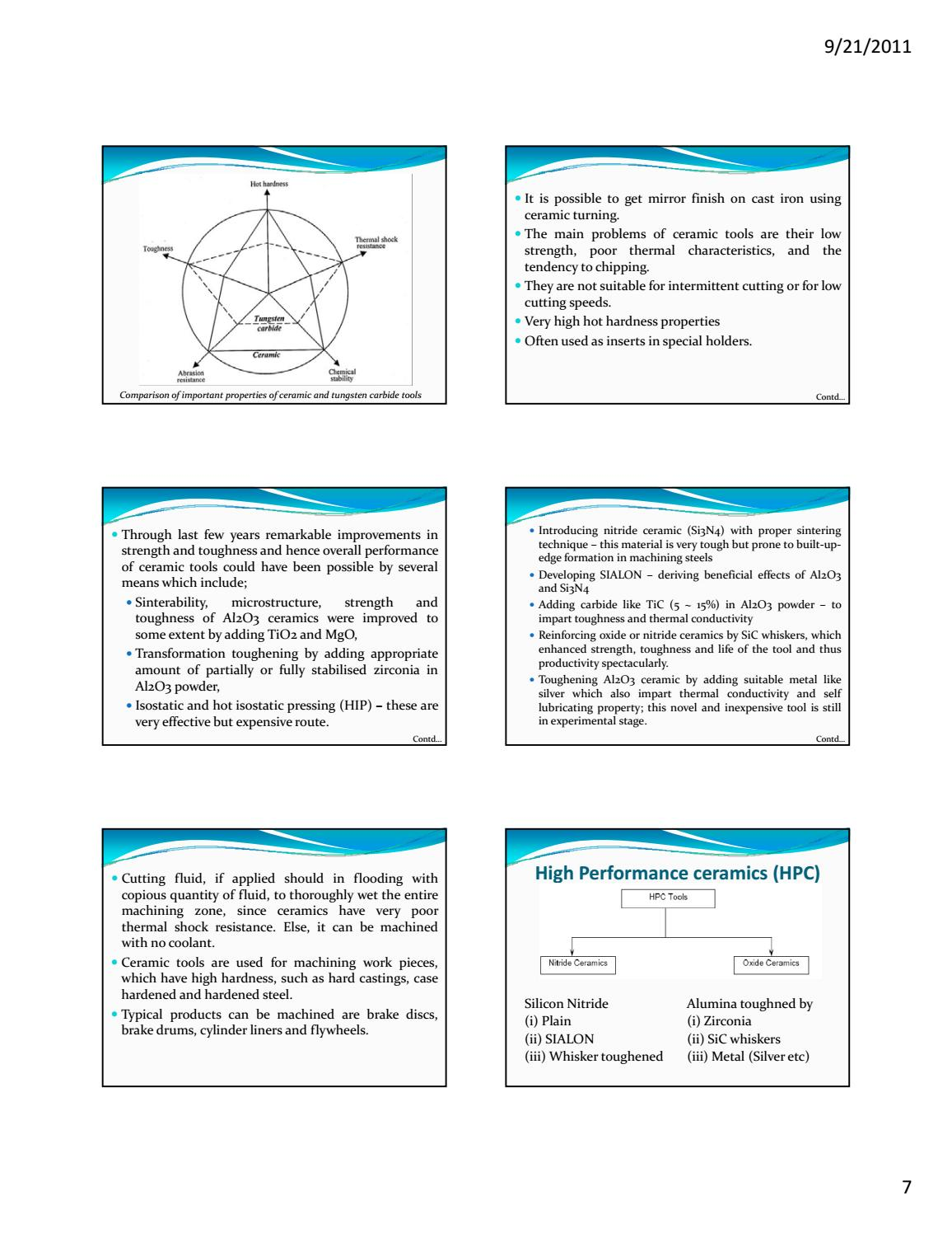 7 8 cutting tool materials complete ppt by S Dharmaraj - issuu