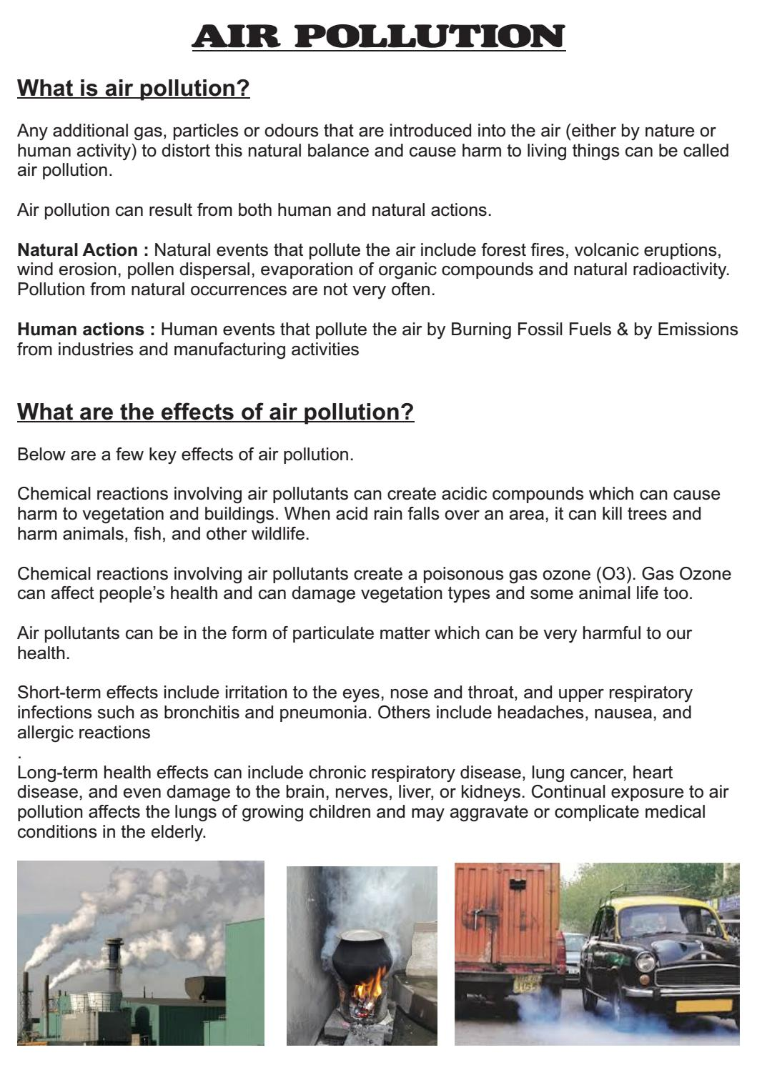 article on air pollution pdf