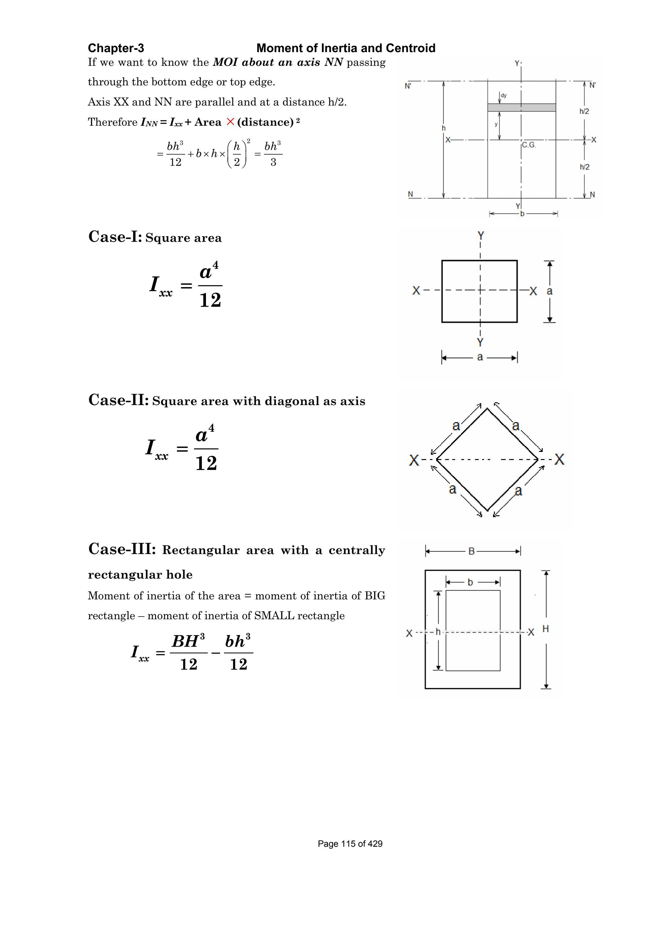 Moment Of Inertia Rectangle | Olivero