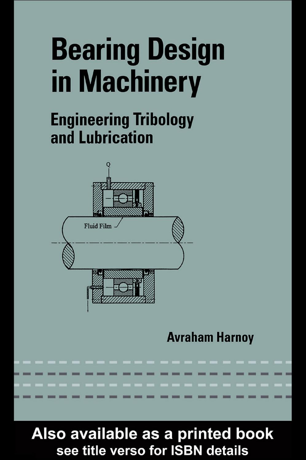 Bearing design in machinery avraham harnoy 2 1 499 by s bearing design in machinery avraham harnoy 2 1 499 by sdharmaraj issuu fandeluxe Image collections