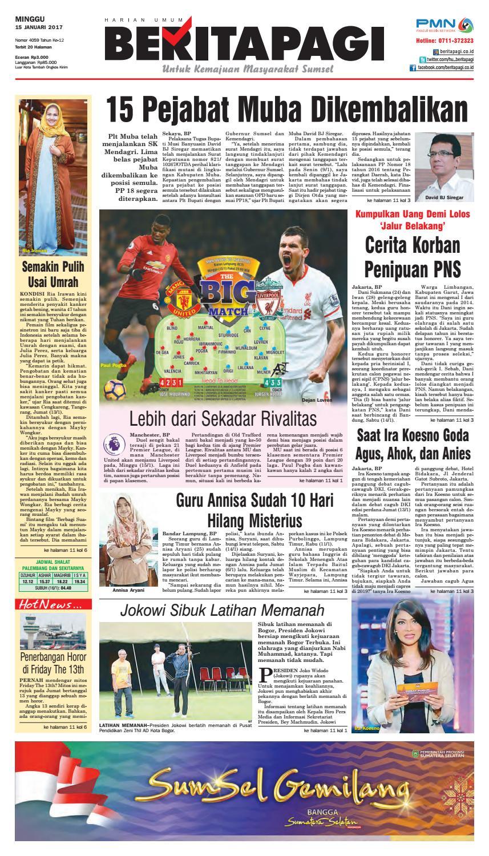 Minggu 15 Januari 2017 By Beritapagi Issuu Parcel Makanan Ampamp Kristal Pja 1609