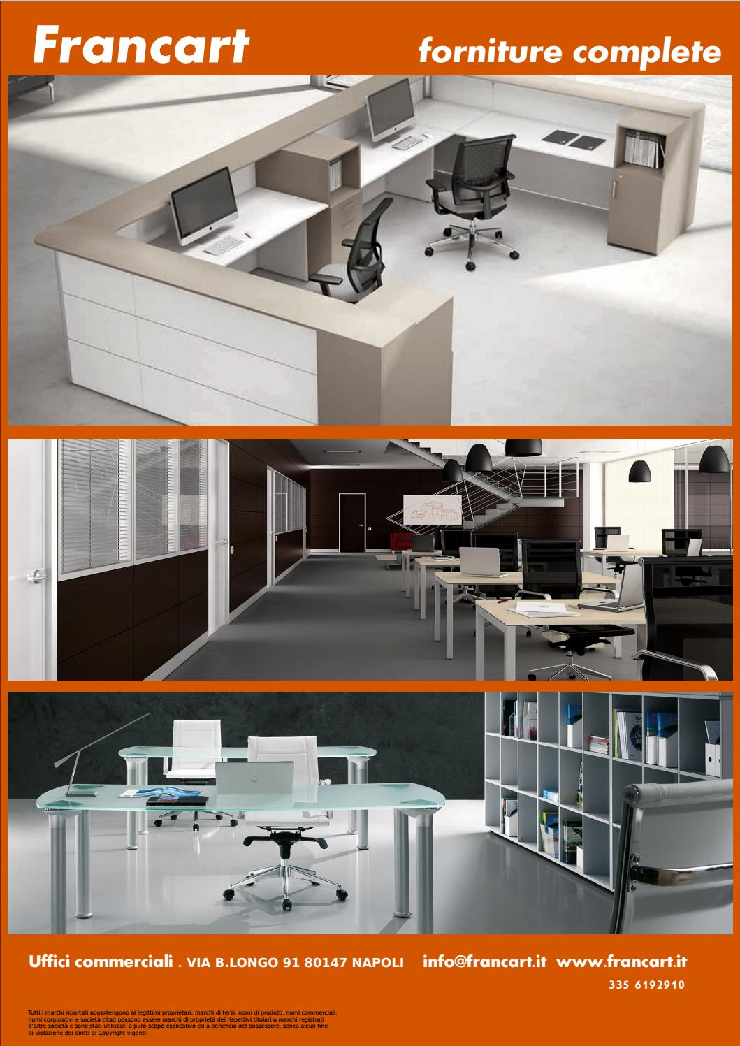Arredamenti uffici by francesco esposito issuu for Longo arredamenti