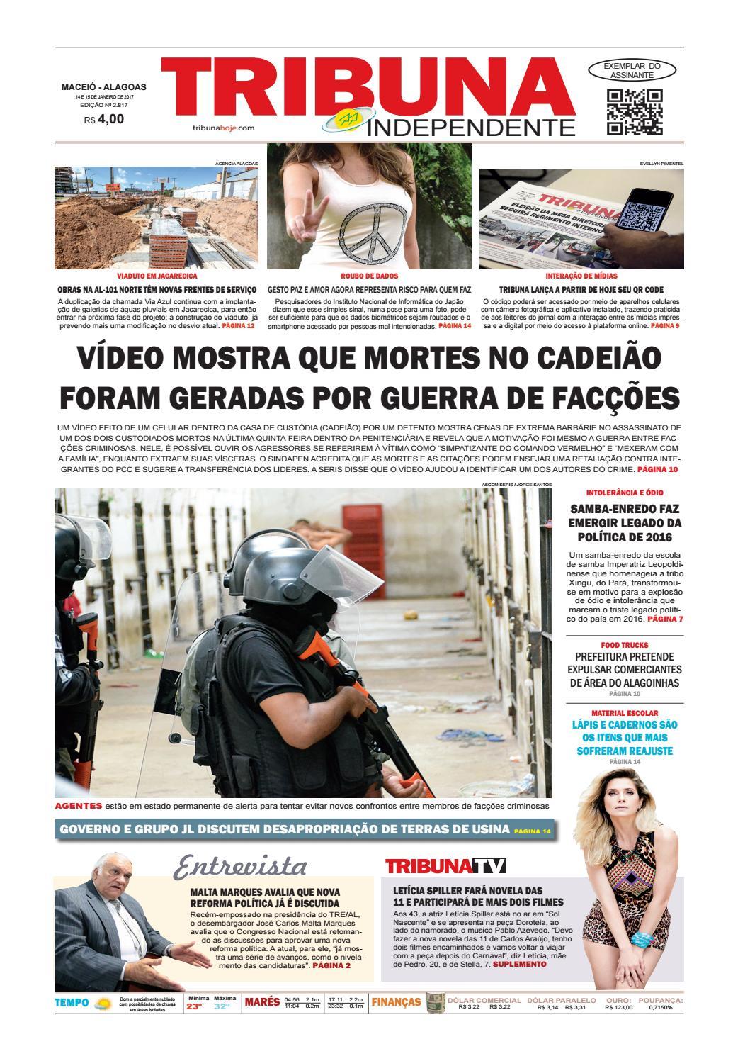 b16f8f2c8e0 Edição número 2817 - 14 e 15 de janeiro de 2017 by Tribuna Hoje - issuu