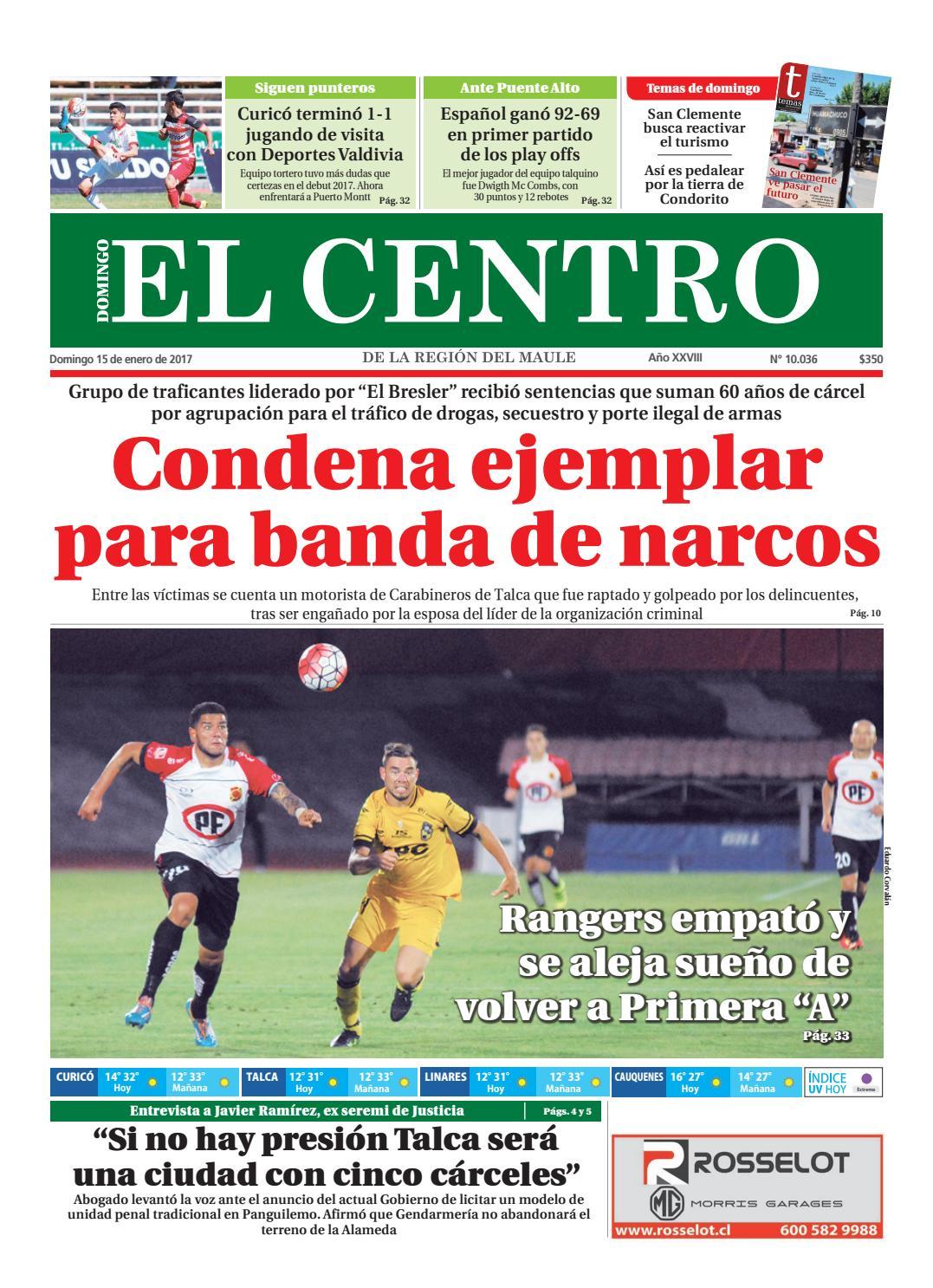 Diario 15 01 2017 by Diario El Centro S.A issuu