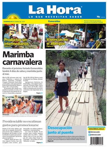 Esmeraldas 15 de enero by Diario La Hora Ecuador - issuu b627aadf6e28