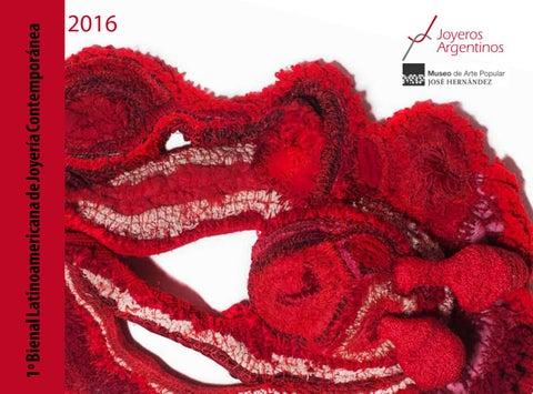 4d46d251ee0c Catálogo de la 1º Bienal Latinoamericana de Joyería Contemporánea ...
