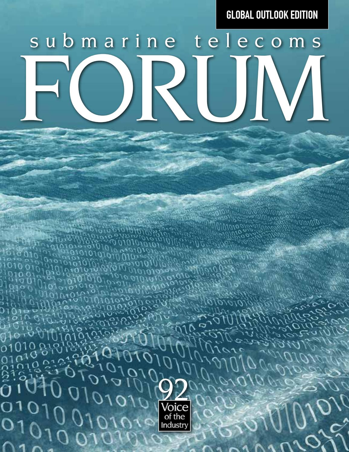 Submarine Telecoms Forum #92 by Submarine Telelecoms Forum - issuu