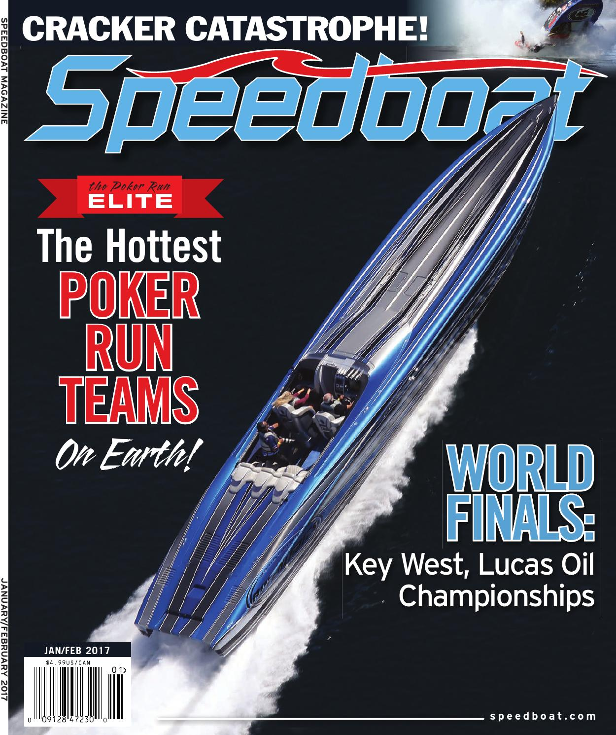 Speedboat January 2017 By Brett Bayne