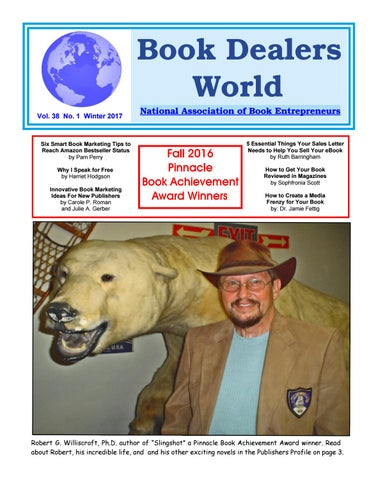 Book dealers world winter 2017 by al galasso issuu book dealers world vol 38 no 1 winter 2017 fandeluxe Image collections