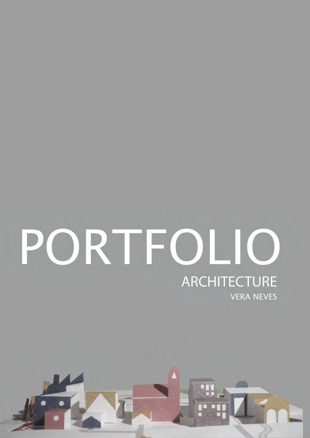 Vera Neves  Architecture Portfolio