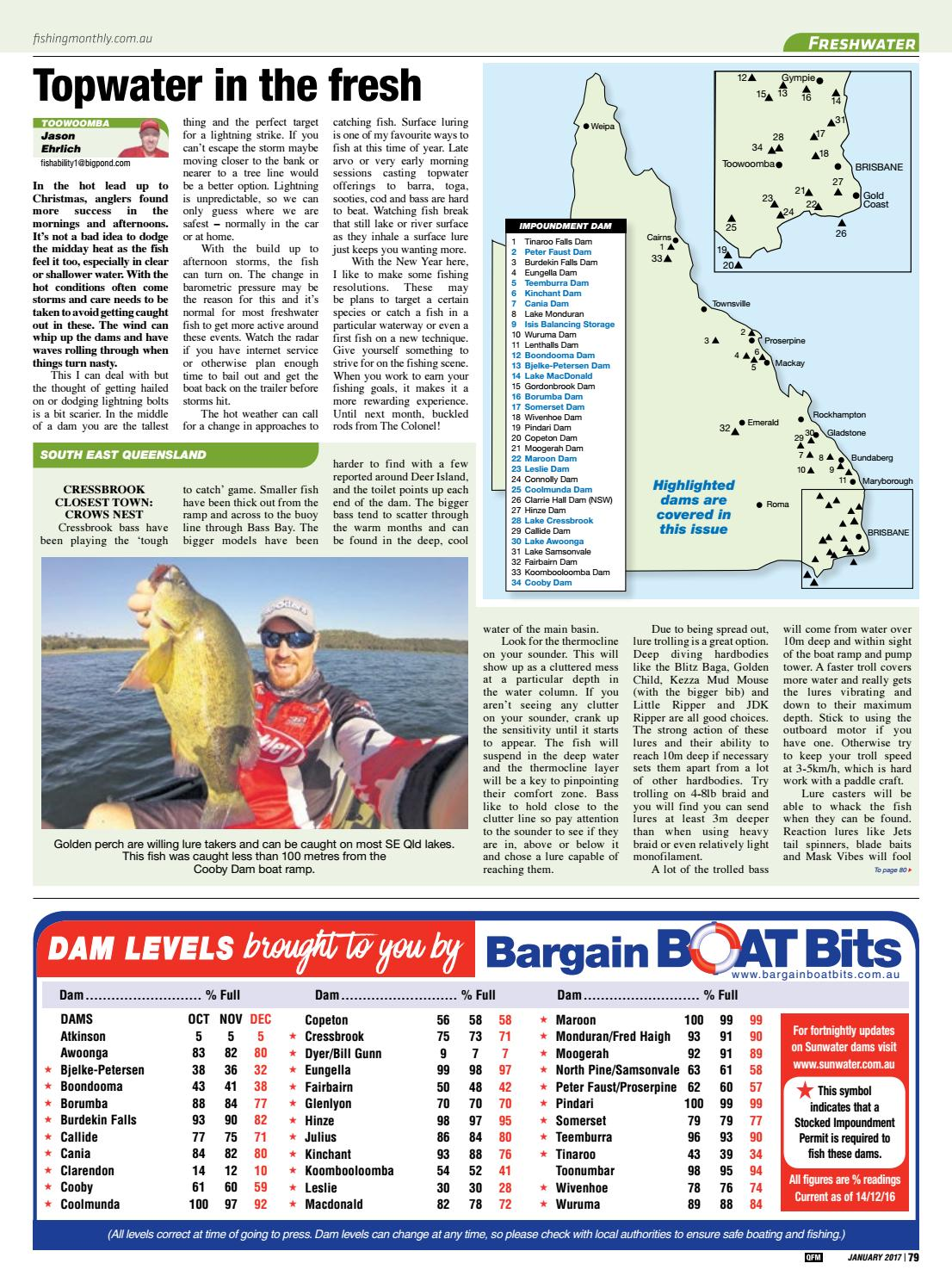 Queensland Fishing Monthly - January 2017