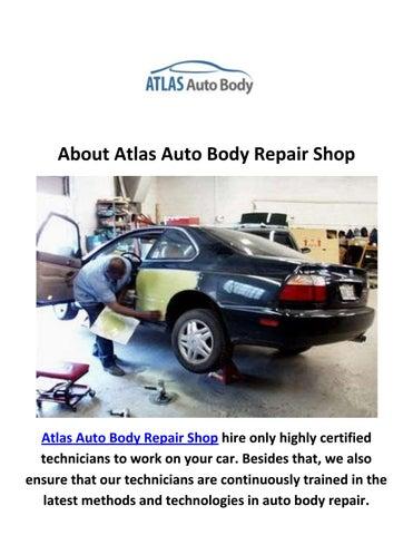 Auto Body Repair Shop >> Atlas Auto Body Repair Shop In Van Nuys Ca By Atlas Auto