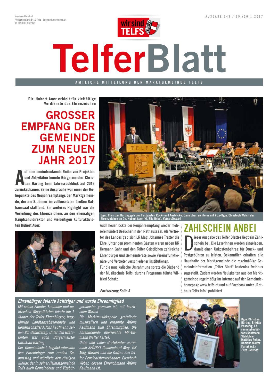 Telfer Blatt Nr. 264 by Marktgemeinde Telfs - issuu
