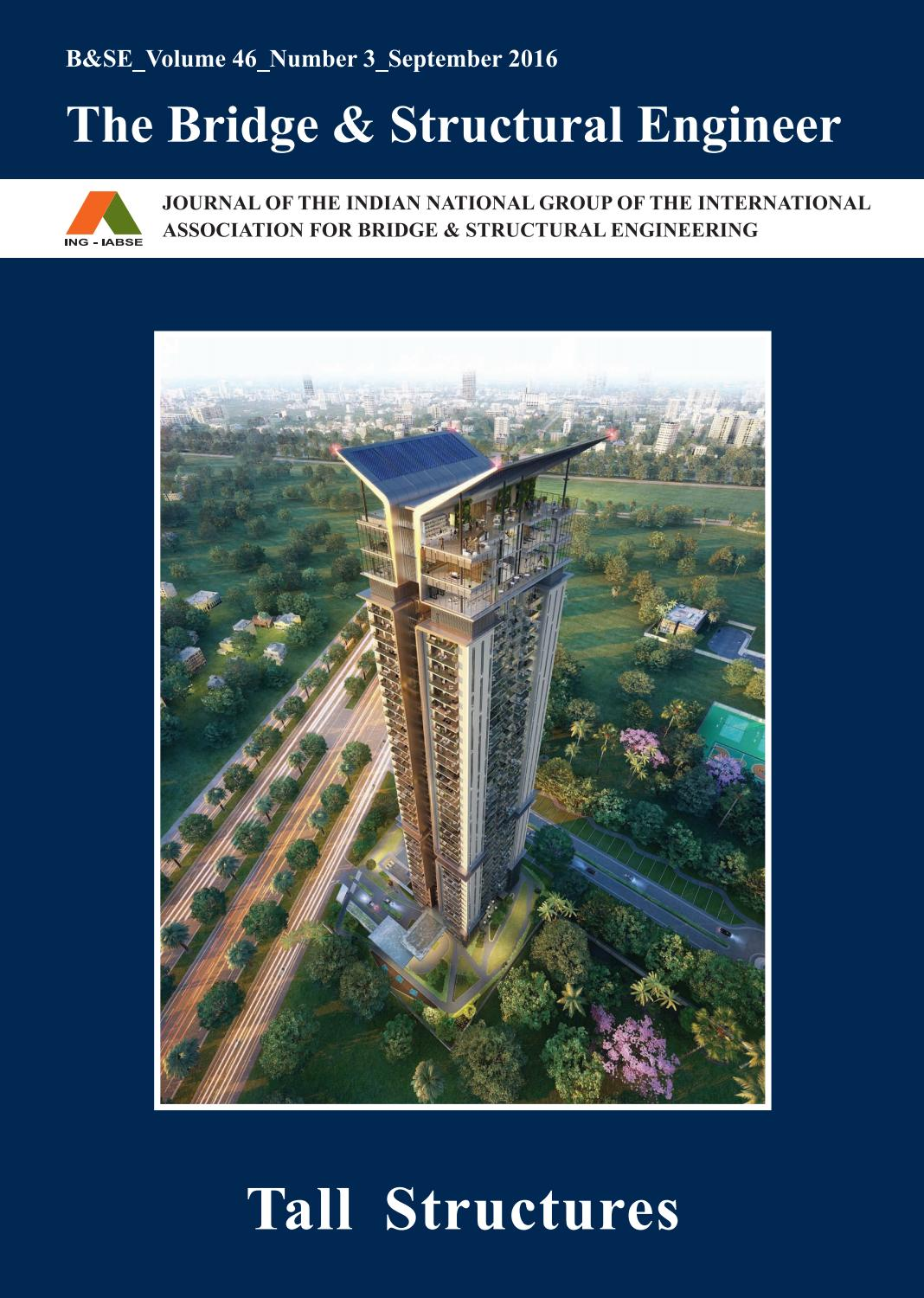 The Bridge Structural Engineer By Iabse Issuu Camber Diagram Furthermore Warren Truss Further And
