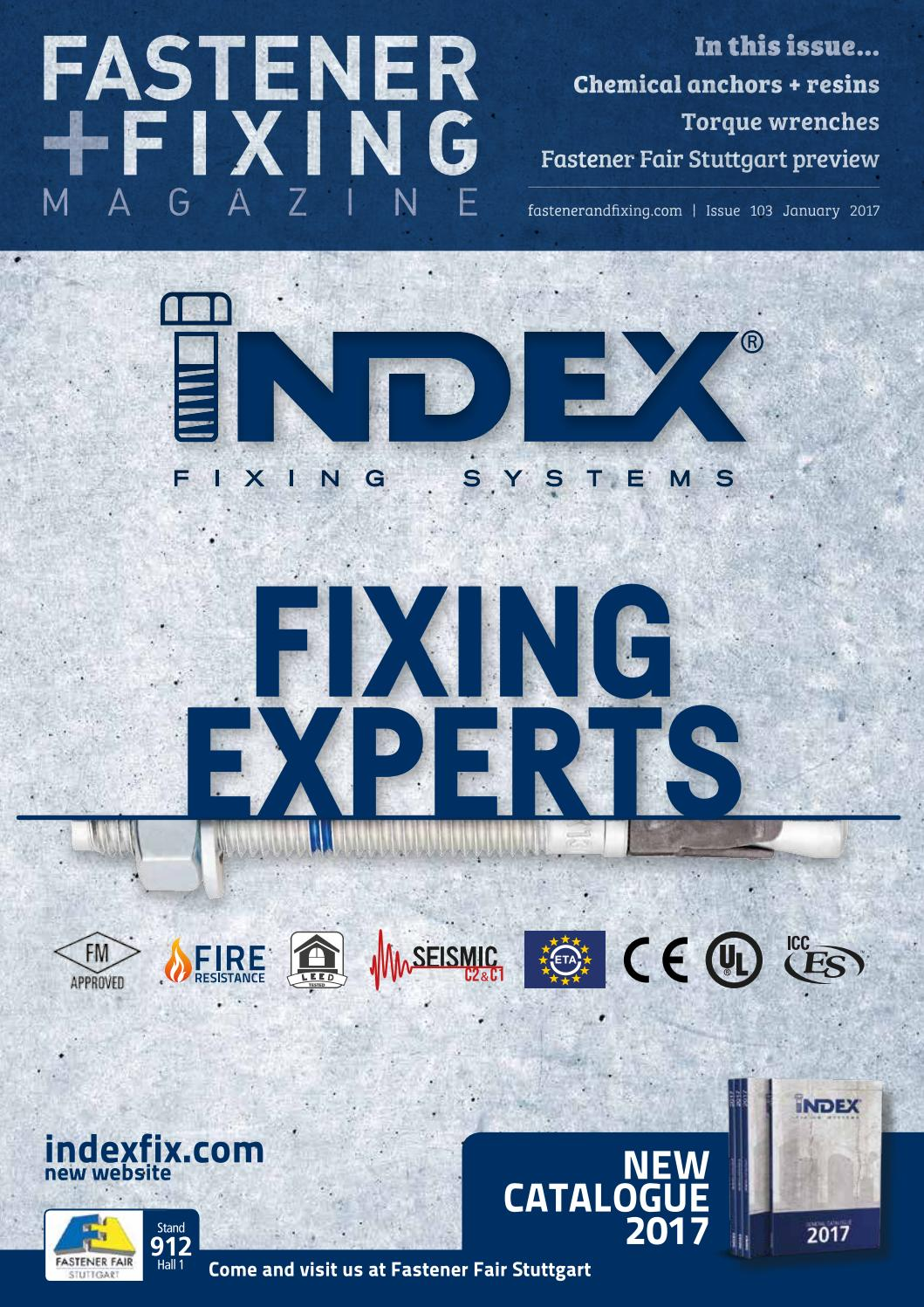 Fastener + Fixing Magazine #103 by Fastener + Fixing Magazine - issuu
