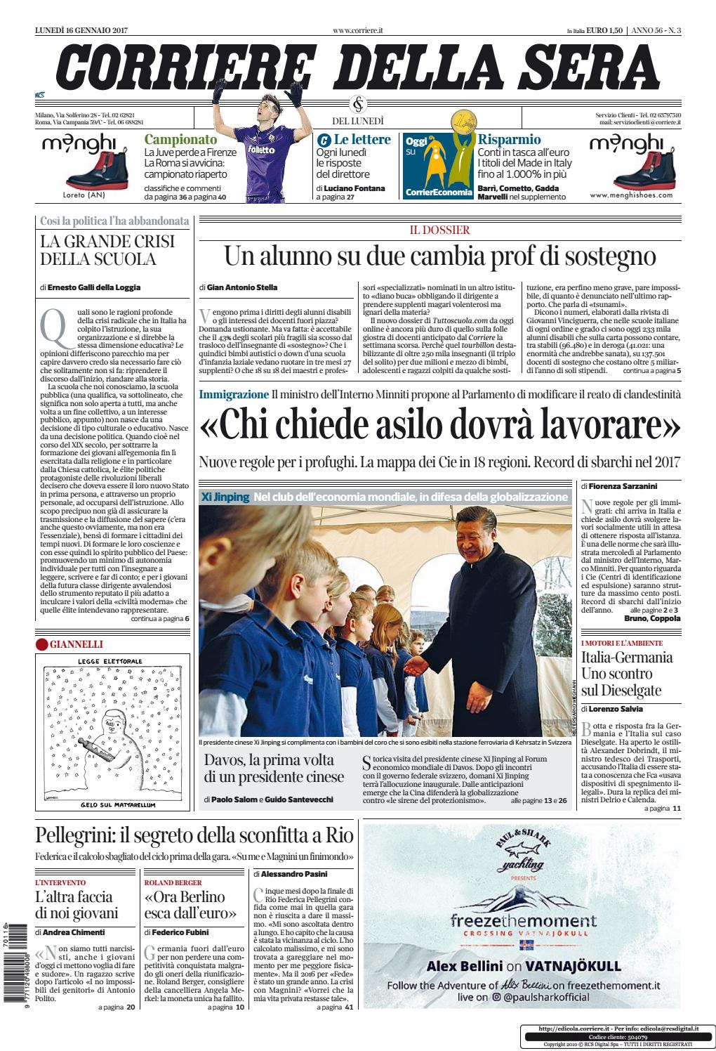 Corriere della sera 20170116 by Kantar Media - issuu 501db78dba5