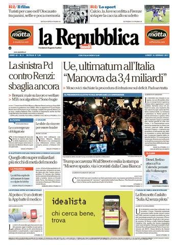 La repubblica 20170116 by Kantar Media - issuu f8fc8173e54f