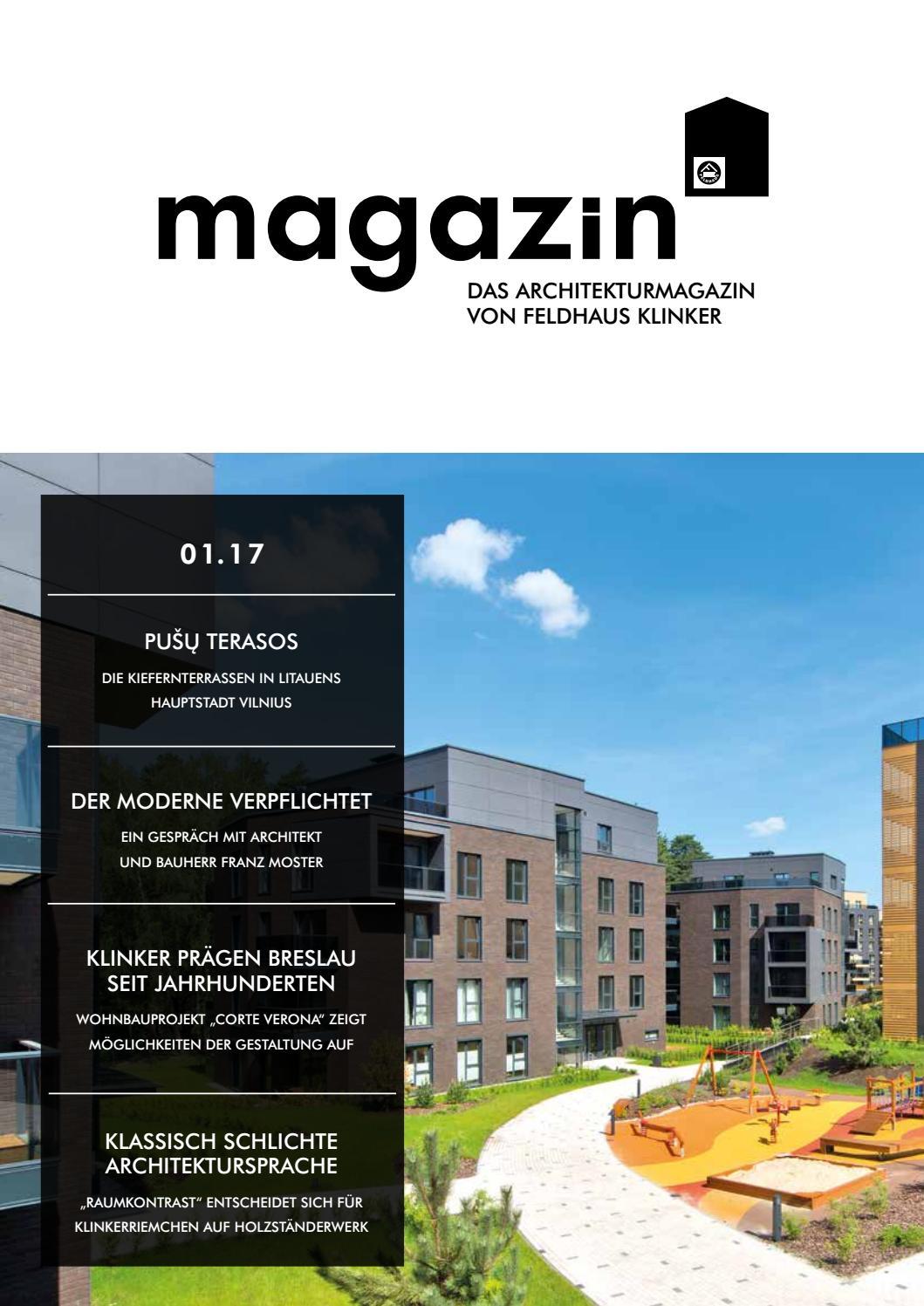FELDHAUS KLINKER magazin by FELDHAUS KLINKER VERTRIEBS GMBH - issuu