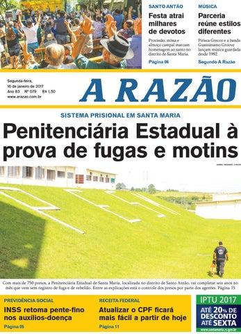 74105e5493 Jornal A Razão 16 01 2017 by Jornal A Razão - issuu