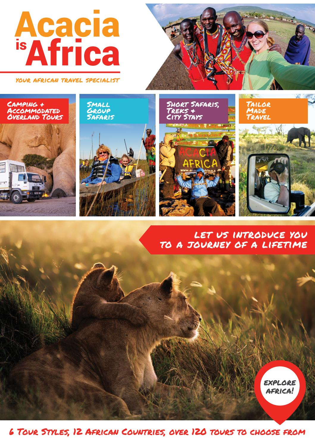Acacia Africa by Acacia Adventure Holidays - issuu