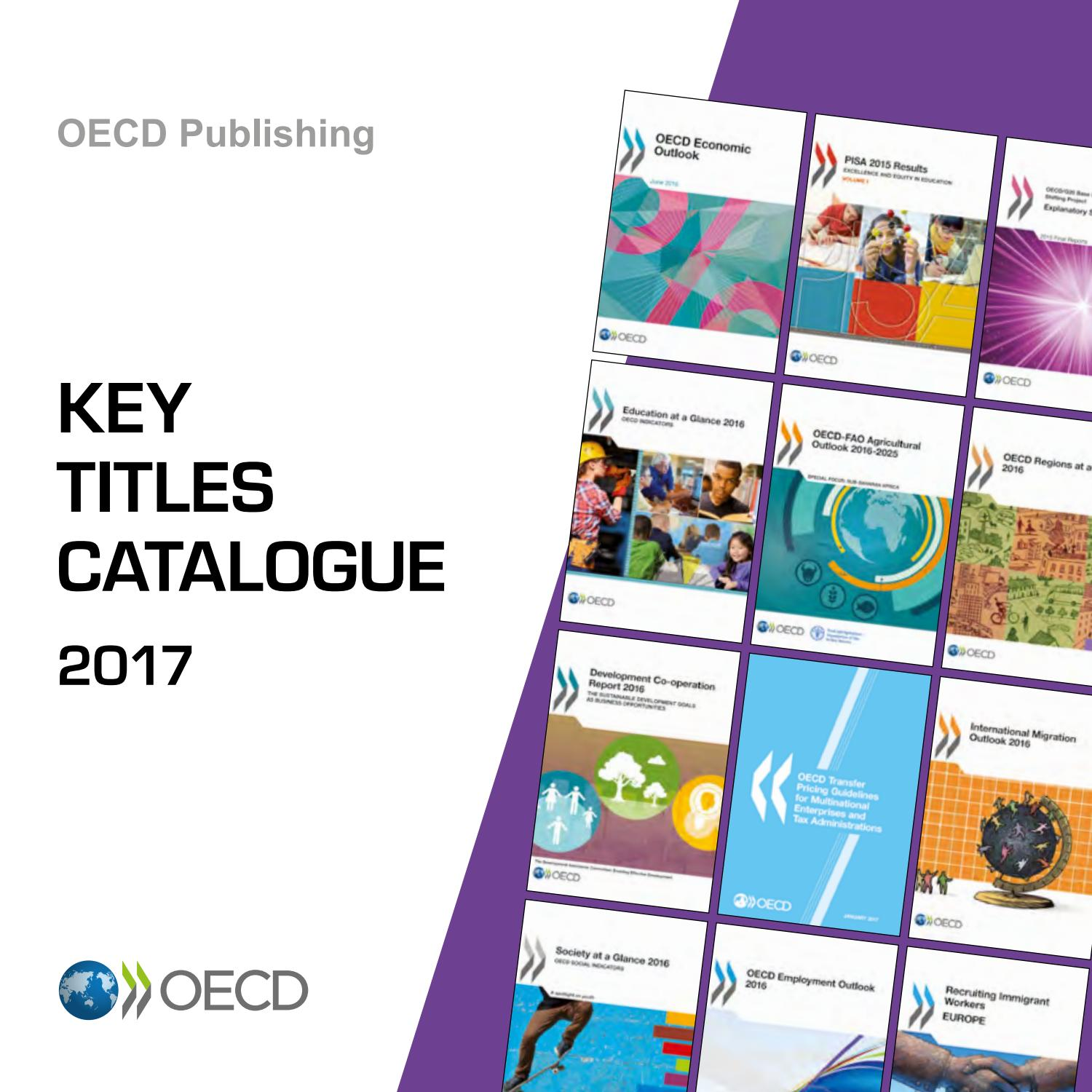 OECD Key Titles Catalogue 2017 by OECD - issuu