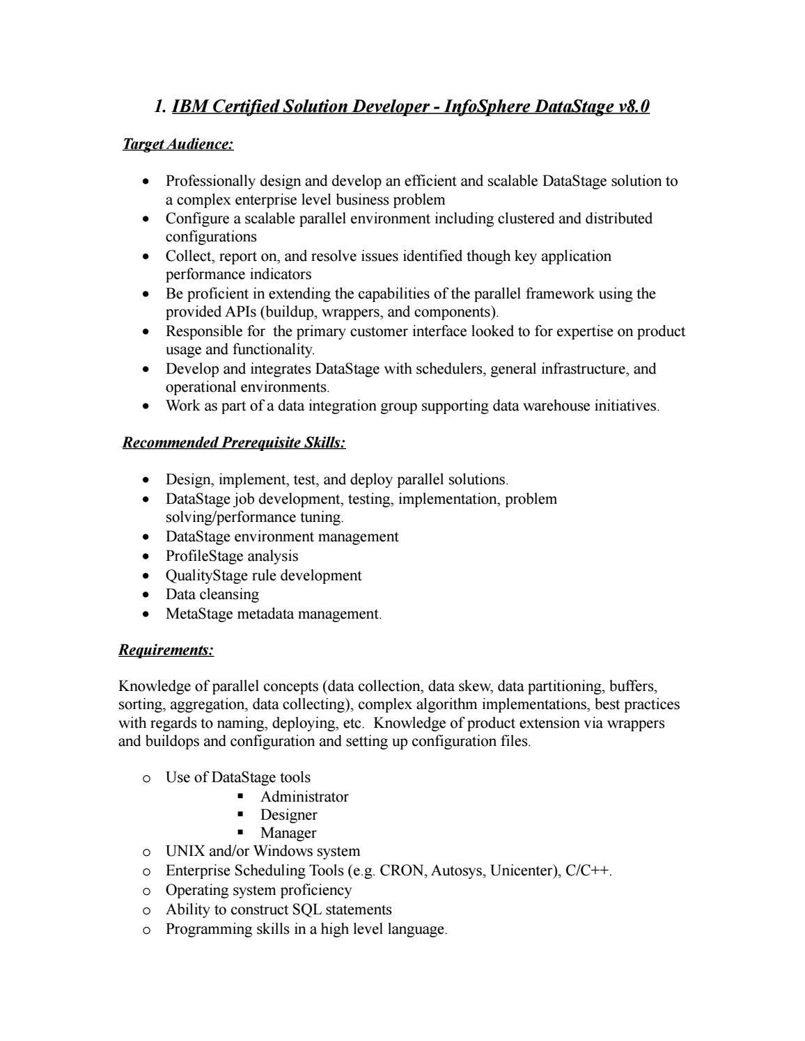 Ibm certified solution developer by vivek kaliyar - issuu