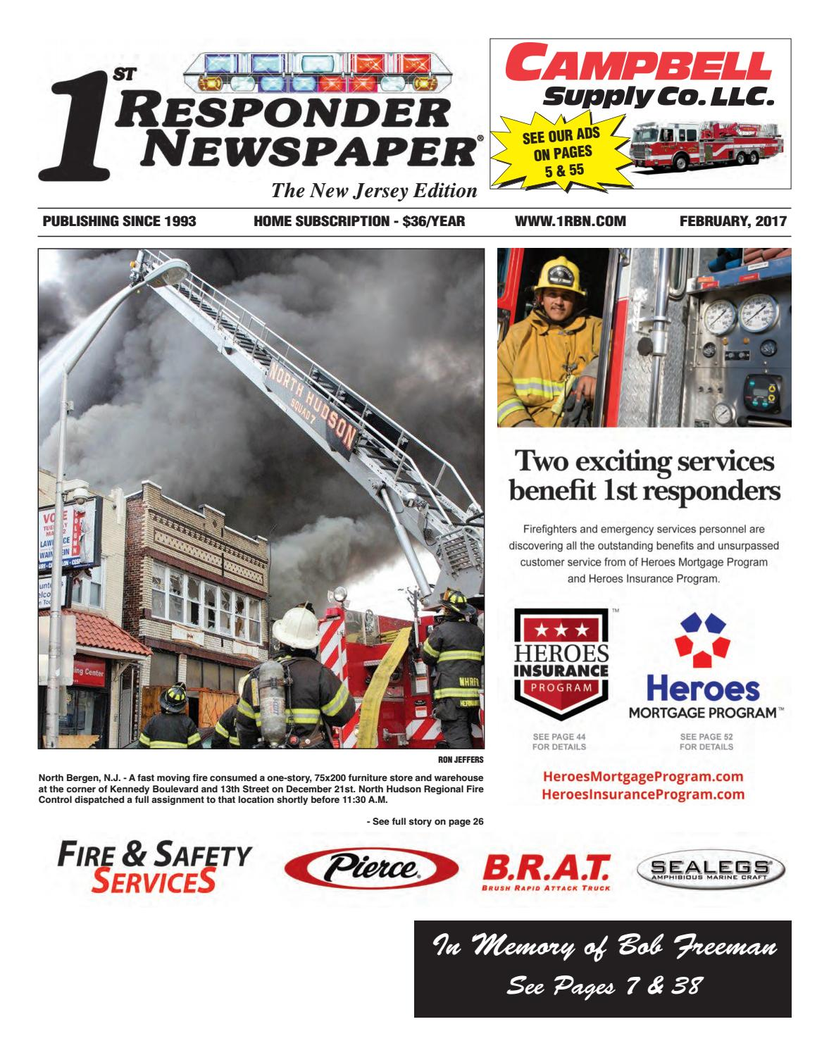 1st Responder Nj February Edition By Belsito Communications Inc Issuu
