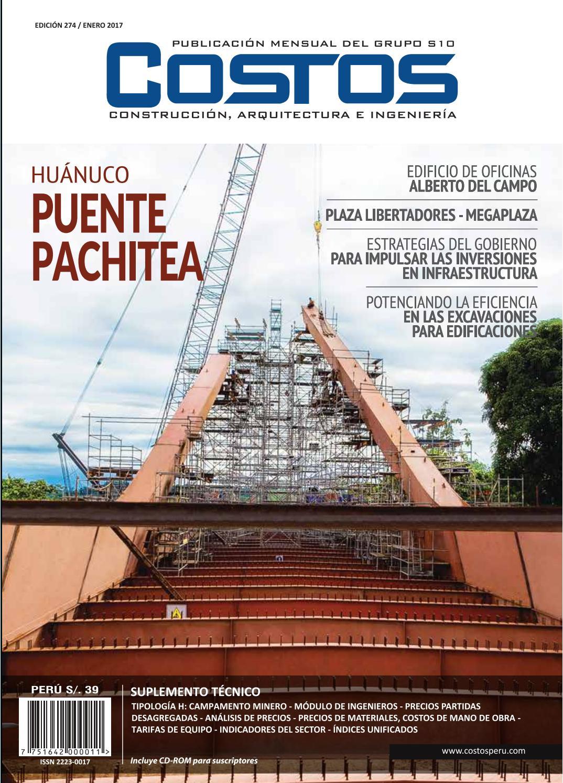 Revista costos edicion 274 enero by COSTOS - issuu