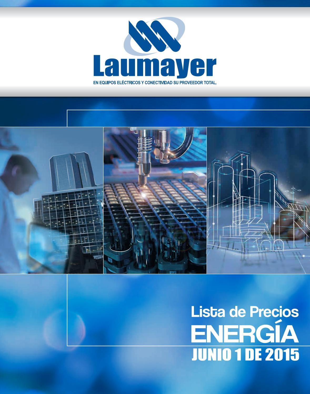 b11b45b62f2 Lista de precios energia laumayer 2015 1junio by Controlar Equipos - issuu