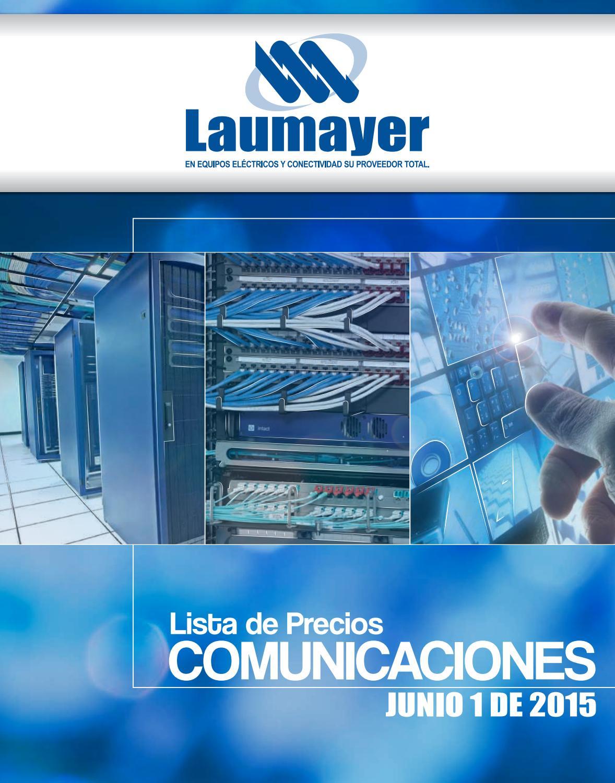 5a329f145c2 Lista precios laumayer comunicac 2015 by Controlar Equipos - issuu
