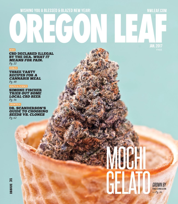 Oregon Leaf — Jan  2017 by Northwest Leaf / Oregon Leaf