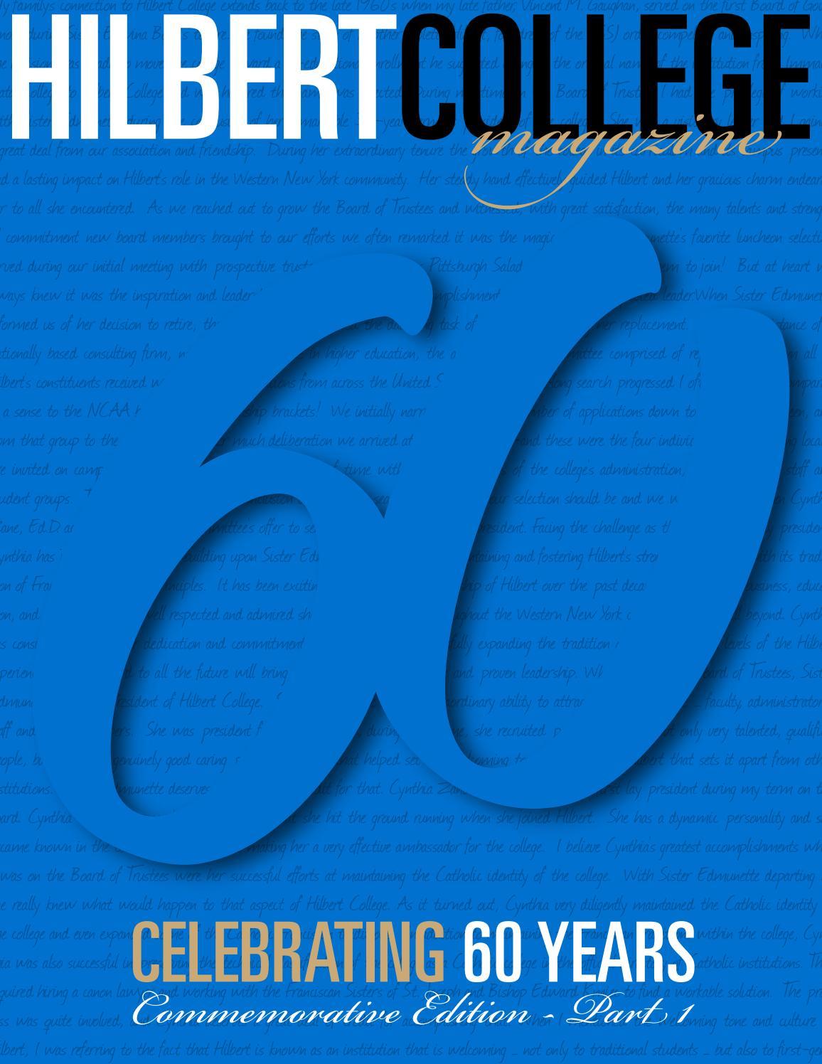 Hilbert college magazine commemorative edition part 1 by hilbert hilbert college magazine commemorative edition part 1 by hilbert college issuu malvernweather Image collections