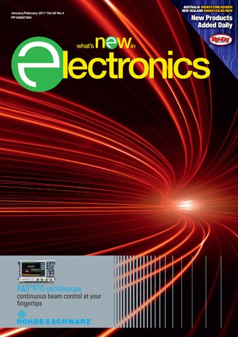 What's New in Electronics Jan/Feb 2017