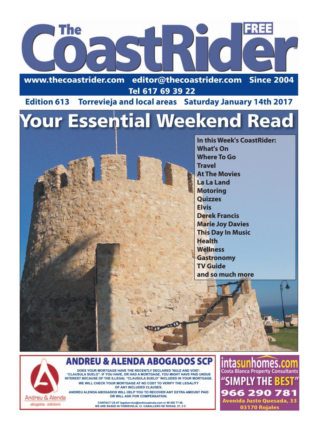 Coastrider Edition 613 By The Coastrider Spain Issuu