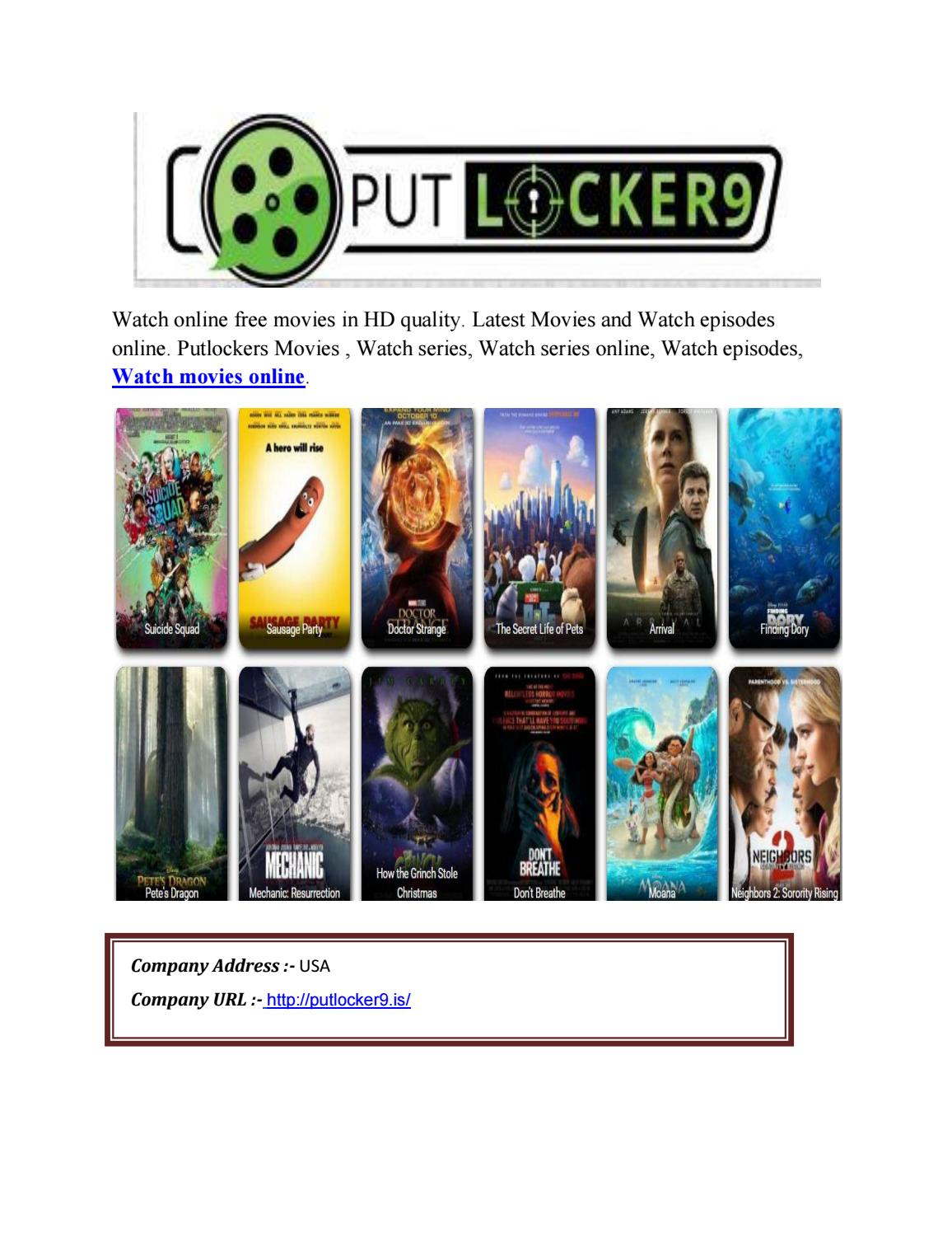 Watch Movies Online on Putlocker - Putlocker9 by restrey kinaya - issuu