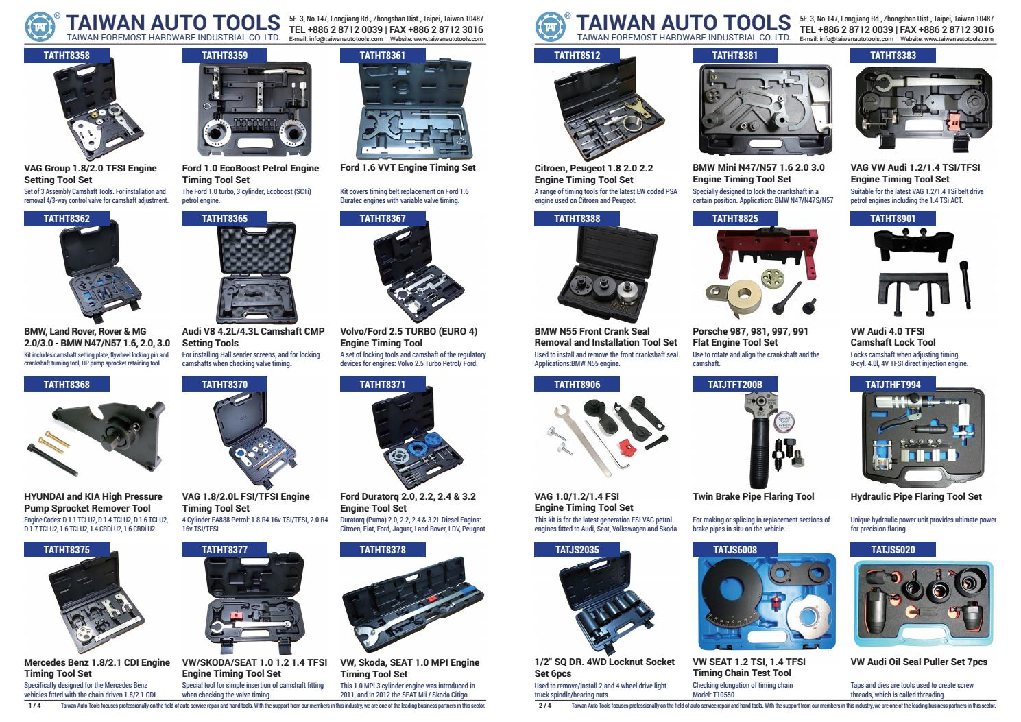 VW AUDI SEAT SKODA 1.2 1.4 1.6 TSI Engine Timing Locking Tool Petrol Belt ACT