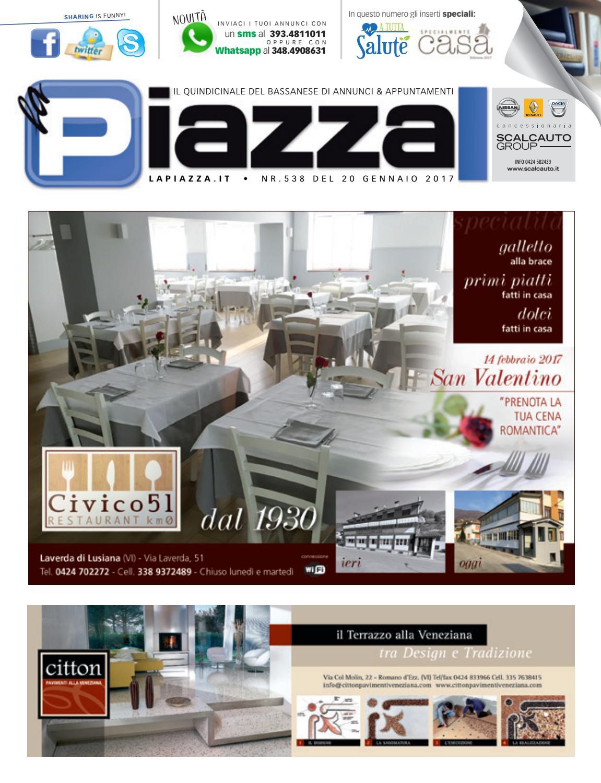 la Piazza di Bassano 538 by la Piazza di Cavazzin Daniele - issuu 3f89615a116
