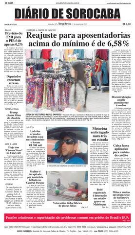 55e03005b Edição de 17 de janeiro de 2017 by Diário de Sorocaba - issuu