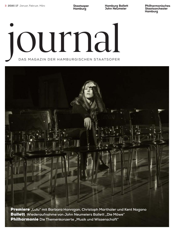 Journal 3 Jan/Feb/Mär by Staatsoper Hamburg - issuu