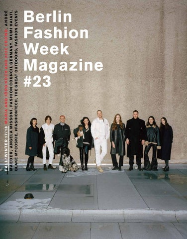 692a3d9b830b Berlin Fashion Week Magazine  23 by Berlin Fashion Week Magazine - issuu