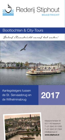 Rederij Stiphout Individueel 2017 By Rederij Stiphout Issuu